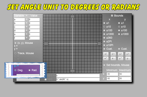 how to work out angle using sin cos and tan